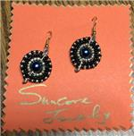SunCore South African bead earrings